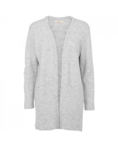 Basic Apparel Cardigan, Hirse, Light Grey Mel