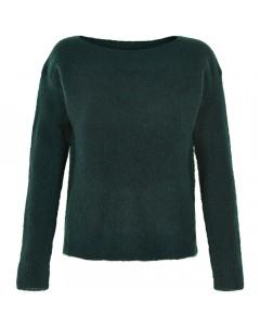 Nümph Sweater, Eulala, Mørk Grøn