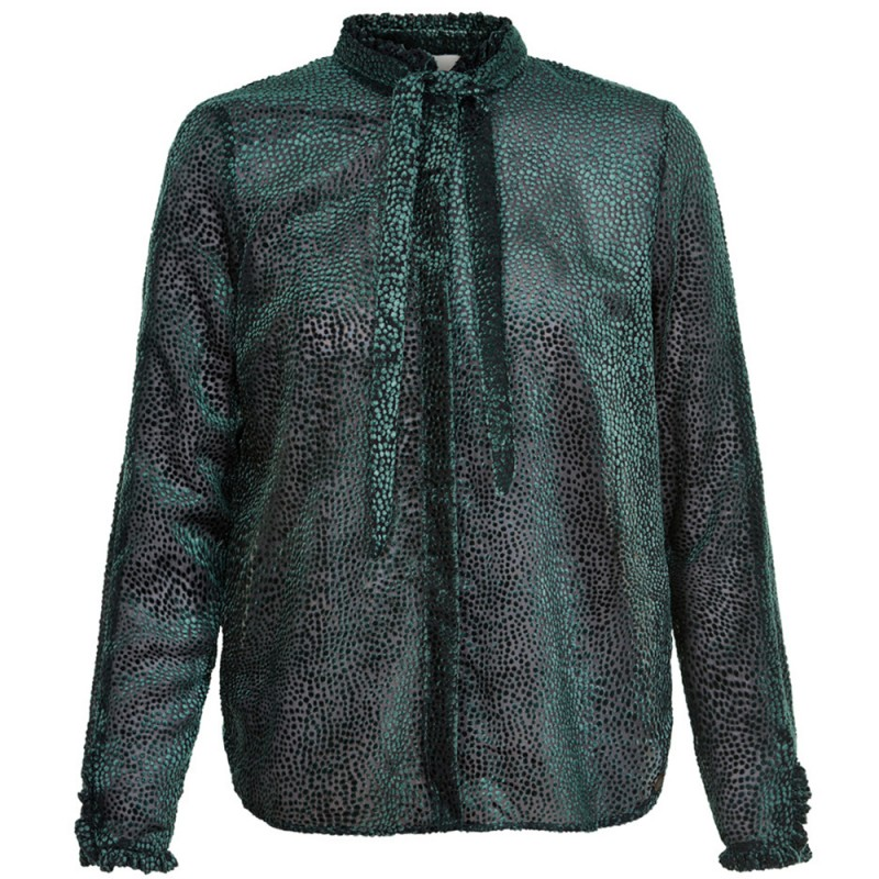 Nümph skjorte, new lucuma, grøn - størrelse - 34 fra nümph på superlove