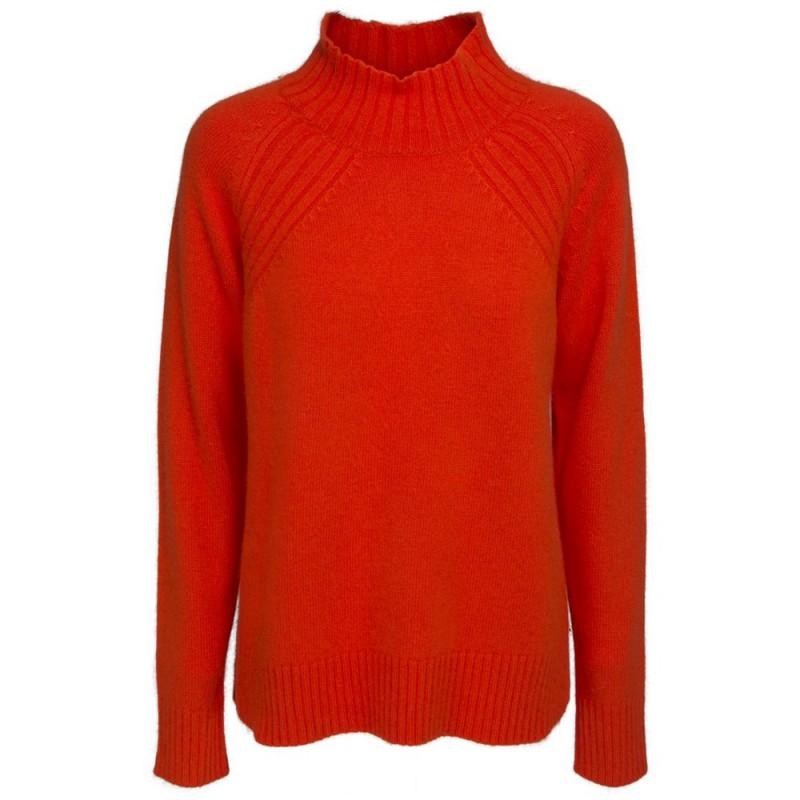 Minus sweater, christie, orange - størrelse - l fra minus på superlove