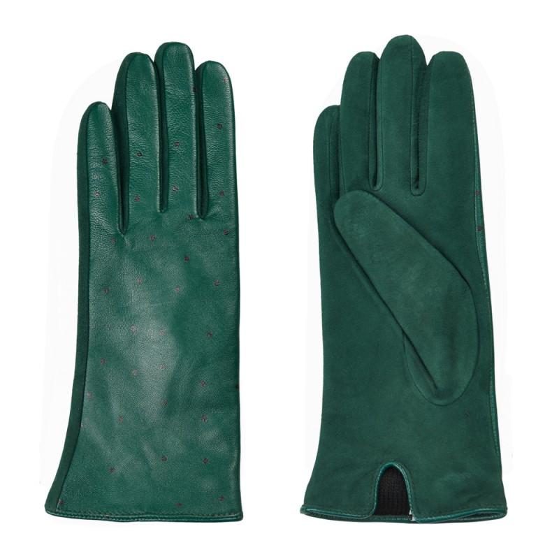nümph Nümph handsker, filomena, grøn - størrelse - l fra superlove