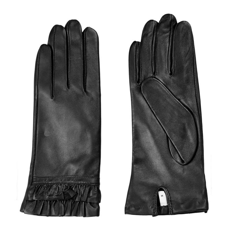 nümph – Nümph handsker, filomena, sort - størrelse - l fra superlove