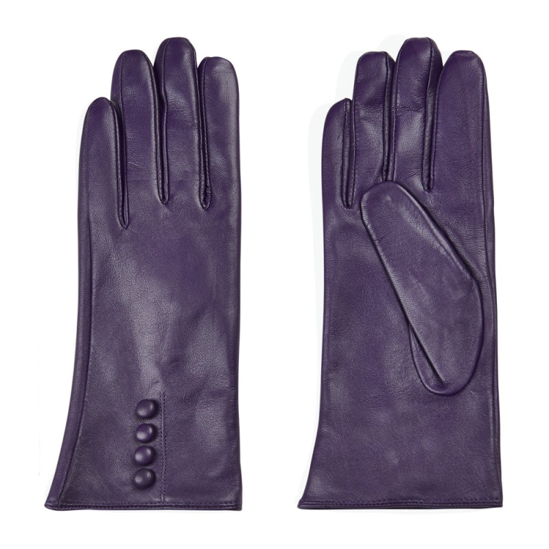 nümph Nümph handsker, filomena, lilla - størrelse - xl fra superlove