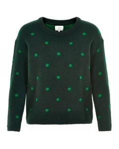 Nümph Sweater, Fausta, Grøn