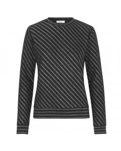 Mads Nørgaard Sweatshirt, Tippy Bretagne, Sort/Sølv