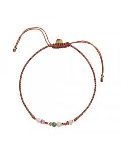 Stine A Armbånd, Candy Bracelet, Multi Mix Rust