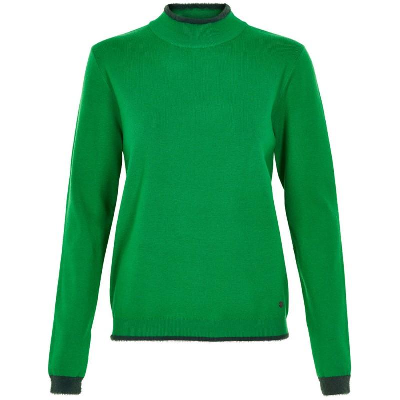 nümph Nümph sweater, emlyn, grøn - størrelse - s fra superlove