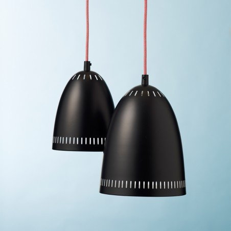 Superliving Lampe, Dynamic, Mat Real Black 2 størrelser