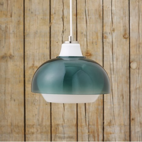 Superliving Lampe, Dual Glas lampe, Duck Green