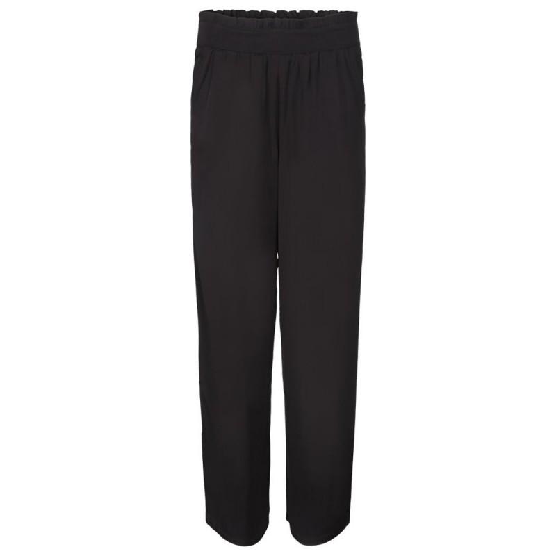 sorte løse bukser fra Minus i modellen Herta