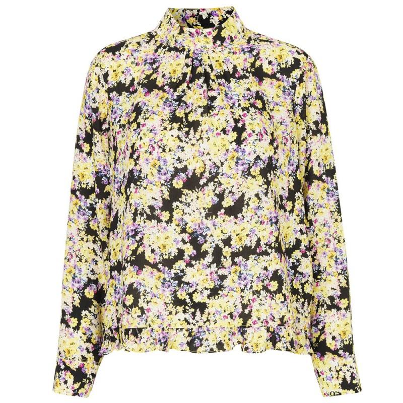 mads nørgaard – Mads nørgaard bluse, baska, multi - størrelse - 34 på superlove