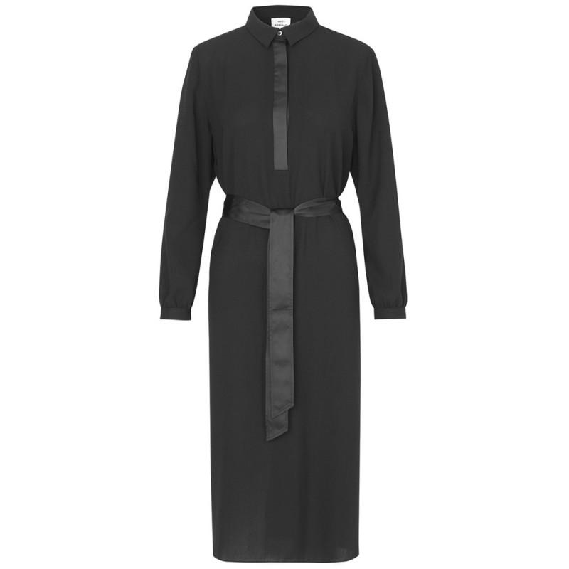 Mads nørgaard kjole, daxina, black - størrelse - 42 fra mads nørgaard på superlove