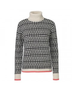 Mads Nørgaard Sweater, Kimi Iceland, Sort/Hvid