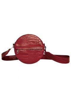 Hvisk Skuldertaske, Cayman Circle, Wine Red