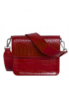 Hvisk Skuldertaske, Cayman Shiny, Wine Red