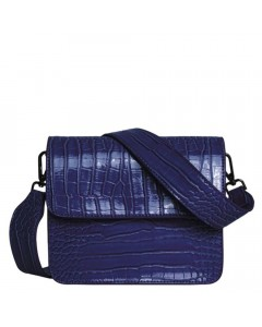 Hvisk Skuldertaske, Cayman Shiny, Midnight Blue