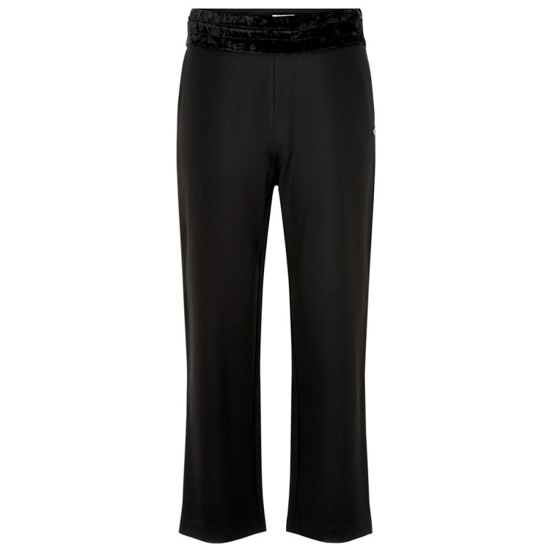 nümph – Nümph bukser, grainne, caviar - størrelse - 38 på superlove