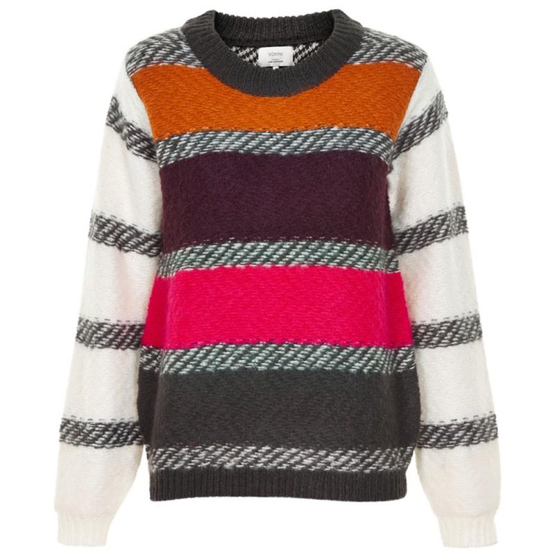 nümph Nümph sweater, hagar, multi - størrelse - l på superlove