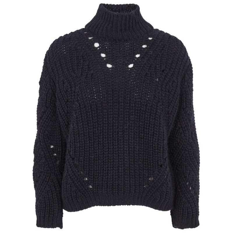 Image of   Basic Apparel Sweater, Pico, Night Blue