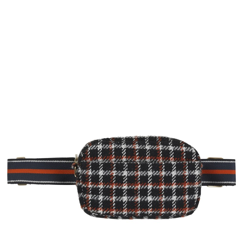 beck söndergaard – Beck söndergaard taske, fany check, black på superlove