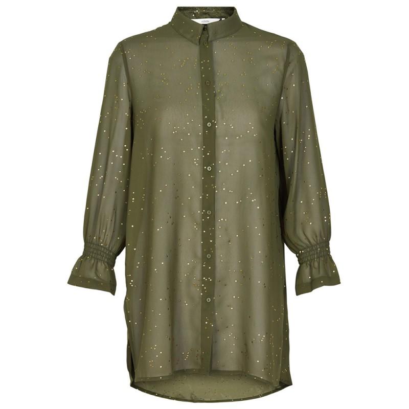 Nümph skjorte, gwyneira, green moss - størrelse - 42 fra nümph fra superlove