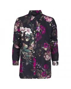 Minus Skjorte, Evalina, Midnight Flower Print