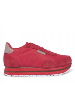Woden Sneakers, Nora II Plateau, Ribbon Red