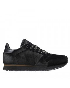 Woden Sneakers, Ydun Velvet, Dark Forest