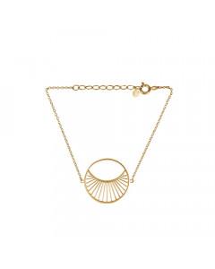 Pernille Corydon Armbånd, Daylight Stor, Guld