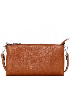 Decadent Taske, Page Mini Flat Cross Body, Cognac