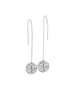 Pendulum, Øreringe, Grass, Sølv