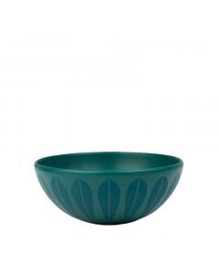 Lucie Kaas Bowl, Lotus Trends 18 cm, Petroleum