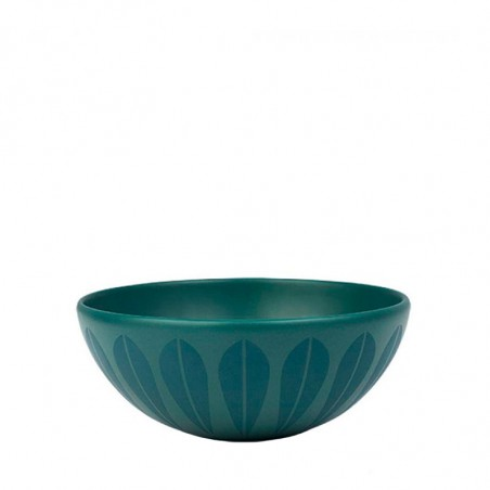 Lucie Kaas Bowl, Lotus Trends 18 cm, Petroleum