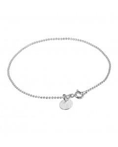Enamel, Armbånd, Ball Chain, Sølv