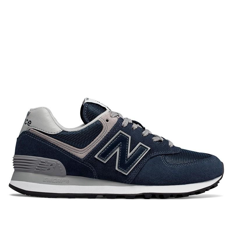 New Balance Sneakers, 574 Core, Navy, gummisko, sneakers fra New balance, blå sneakers