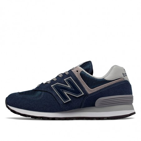 New Balance Sneakers, 574 Core, Navy, gummisko, sneakers fra New balance, blå sneakers, detalje