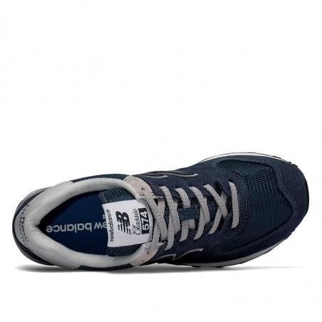 New Balance Sneakers, 574 Core, Navy, gummisko, sneakers fra New balance, blå sneakers, grå