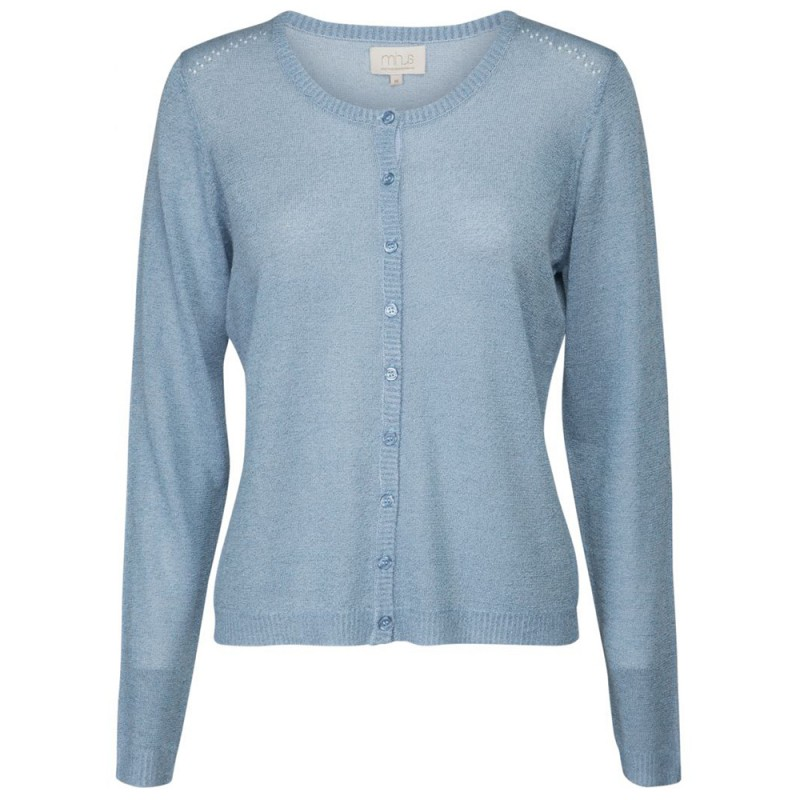Minus Cardigan, New Laura, Icy Blue Lurex