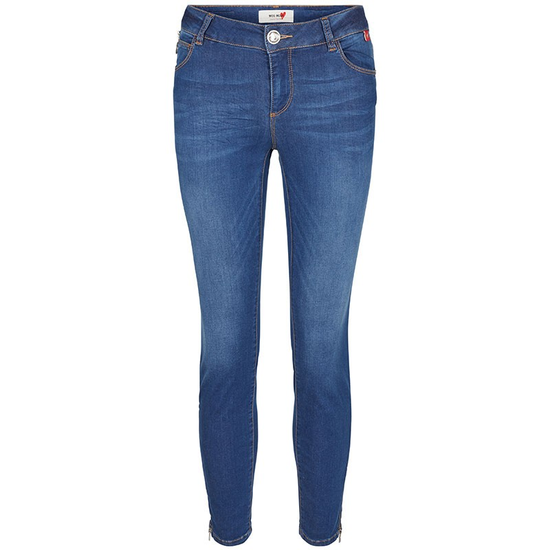 Mos Mosh Jeans, Victoria Sateen, Blue Denim