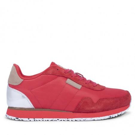 Woden Sneakers, Nora II, Ribbon Red
