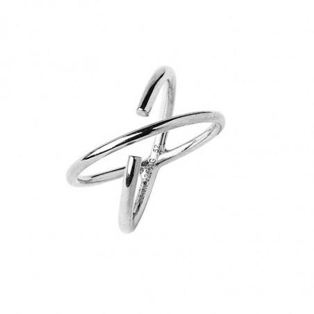 Maria Black Ring, Twin, sølv