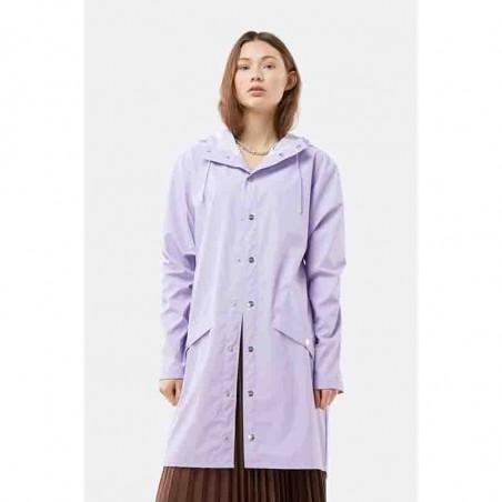 Rains Regnjakke, Lang model i Lavender