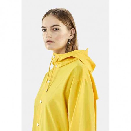 Rains Regnjakke, Lang, Yellow detalje