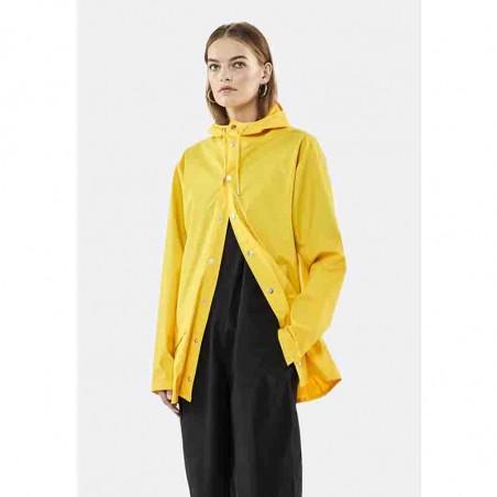 Rains Regnjakke, Kort, Gul model