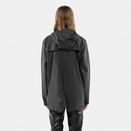 Rains Regnjakke, Kort, Black bagside model
