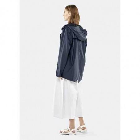 Rains Regnjakke, Kort, Blue model bagside