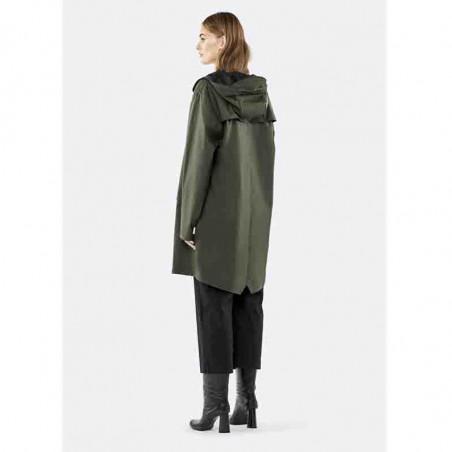 Rains Regnjakke, Lang, Green bagside model