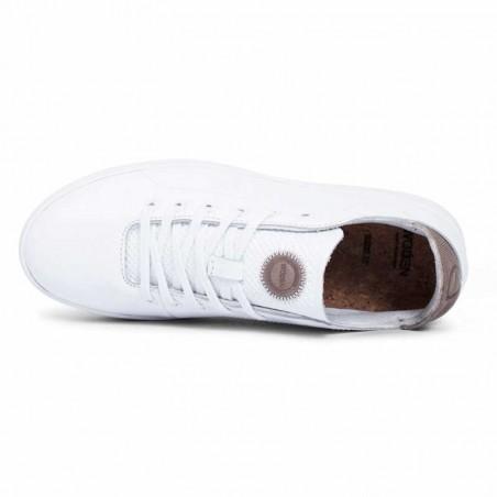 Woden Sneakers, Jane Leather, Bright White ovenfra