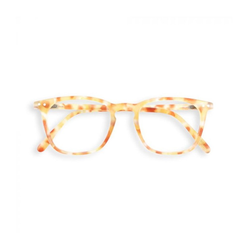 Izipizi Briller, E Reading, Yellow Tortoise