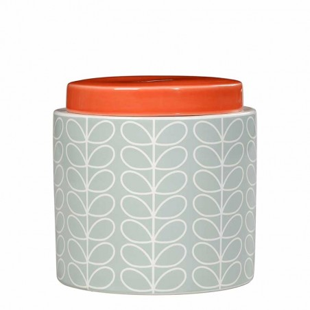 Orla Kiely Krukke, Linear Stem, Egg Blue